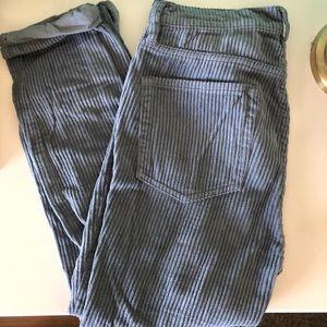 corduroy vintage style pants